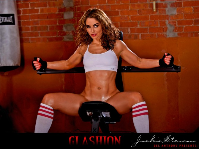GLASHION presents Jackie Stevens: Hardbody Series – courtesy of Del Anthony