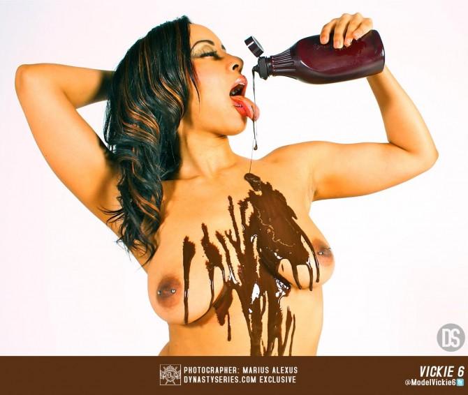 Vickie 6 @ModelVickie6: Sexual Choclate – Marius Alexus